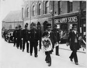 Escort for the Assize Court Judge at Brecon, 1930s