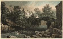 Engrafiad o Bontneddfechan, 1829