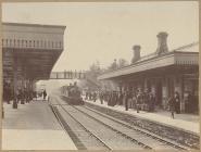 Llandrindod Wells railway station, c. 1900
