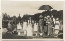 Lakeside pageant at Llandrindod Wells, 1930s