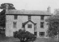 Trebarried House near Llandefalle, c. 1960