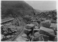 Elan Valley construction site, 1896