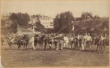 Polo at Llandrindod Wells, c. 1870