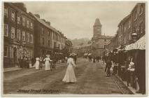 Broad Street, Welshpool, c. 1908