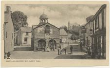 Old Market Hall, Llanfair Caereinion, c. 1888