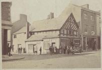 Broad Street, Welshpool, c. 1874