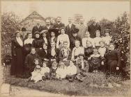 Welshpool Field Club outing, c. 1909