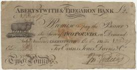 Addaweb, Banc Aberystwyth & Tregaron, 1814