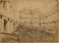 Cambrian Mill, Llanidloes, which was destroyed...