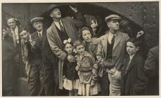 Llanidloes occasion, late 1940s