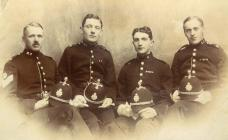 Members of the Radnorshire Constabulary, c. 1920s