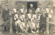 Radnorshire Constabulary Football Team, c. 1928