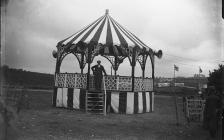 Photograph of a Band Stand at the International...