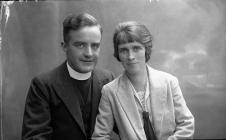 Photograph of Rev and Mrs Stallard, c. 193?-??-...