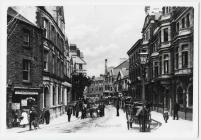 Taff Street, Pontypridd, diwedd y 19eg ganrif