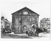 Penuel Chapel and drinking fountain, Pontypridd...