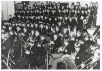 Pontypridd Grammar School orchestra and choir, c.
