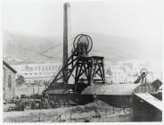 The Albion Colliery, Cilfynydd, after the...