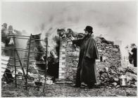 Dr William Price's cremation, Caerlan,...