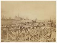 Building Roath Dock, Cardiff, c. 1883