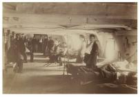 Patients on board the Hamadryad Hospital Ship,...