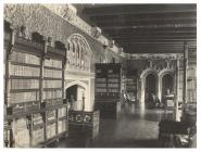 The Library, Cardiff Castle, 1891