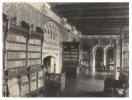 Y Llyfrgell, Castell Caerydd, 1891