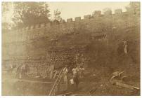 Castle Walls, Cardiff Castle, c.1888