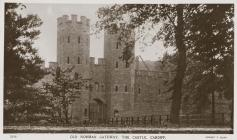 The Old Norman Gateway, The Castle, Cardiff, c...