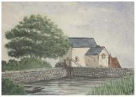 Roath Mill, Cardiff, by W. B. Hodkinson, 1886 ...