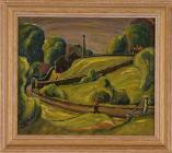 'Reservoir, Llandough' by Charles...