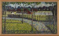 'Llandaff Fields' by Charles Bird,...