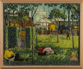 'Sophia Gardens, an Exhibition' gan Charles...