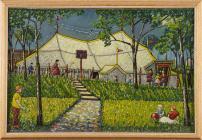 'Arena Theatre, Bute Park' gan Charles Byrd,...