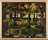 'Autumn, Bute Park or Castle Grounds' gan...