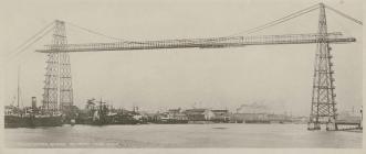 Newport Transporter Bridge, c.1906