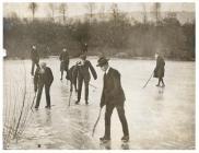 Skating in Cardiff, 1908
