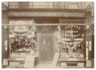Tobacconist and stationery shop, Albany Road,...
