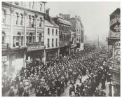 Welsh Volunteer Detachment in Queen Street,...