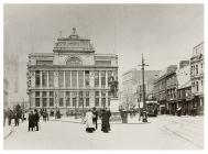 Central Library, The Hayes, Cardiff, c. 1907