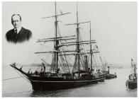 The Terra Nova leaving Cardiff at the start of...
