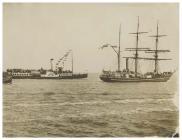 The Terra Nova heading down the Bristol Channel...