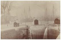 Old Sea Lock, Cardiff Docks, c. 1890
