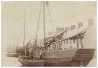 Old Sea Lock, Cardiff Docks, 1891