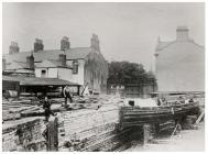Glamorganshire Canal Dry Dock, Cardiff, 1891