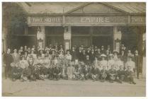 Empire Theatre staff, Queen Street, Cardiff, c....