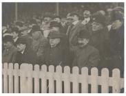 Local dignitaries at the football match between...