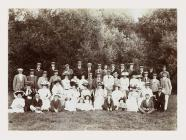 Officers of the Monmouthshire Regiment and...
