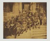 Officers of the Monmouthshire Regiment and a...