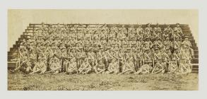 Company of the Monmouthshire Regiment before...